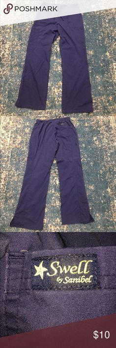Swell Sanibel Scrubs Medium Navy Swell by Sanibel Scrub pants. Stretchy draw string. My floor no longer uses these colors. Pants