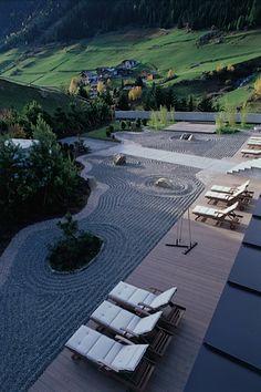 PeterPaul Tschaikner www.retreat-design.com Outdoor Furniture, Outdoor Decor, Sun Lounger, Landscape, Inspiration, Design, Home Decor, Chaise Longue, Homemade Home Decor