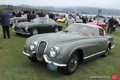 Photo gallery, award winners and results from the Pebble Beach Concours d'Elegance held August 20 at the Pebble Beach Golf Links in California. Classic Motors, Classic Cars, Classic Style, 2013 Jaguar, Jaguar Xk120, Tata Motors, Car Purchase, Pebble Beach Concours, Jaguar F Type