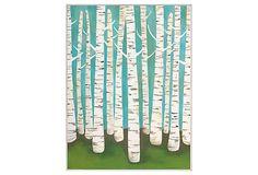 Lisa Congdon, Summer Birches