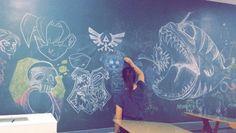 Rabiscos #draw #desenho #drawing #ilistração #irmaodojorel #art #arte #desenhando #gizdecera