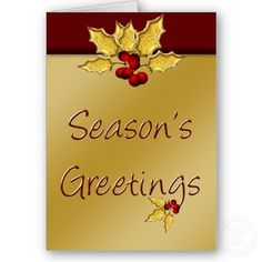 #elegant #holiday #greetings