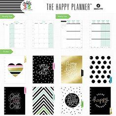 Sugar & Type Me & My Big Ideas MMBPLNR-22Create 36518 Maanden Planner, meerdere kleuren, 24,8 x 21,9 x 23,5 cm: Amazon.de: Küche & Haushalt