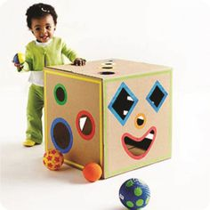 You can make many things from old cardboard boxes.And there are amazing cardboard projects for your kids too.Here we gathered DIY ideas for cardboard guitars Cardboard Box Crafts, Cardboard Toys, Cardboard Box Ideas For Kids, Cardboard Playhouse, Cardboard Furniture, Cardboard Kitchen, Kids Crafts, Crafts To Make, Easy Crafts