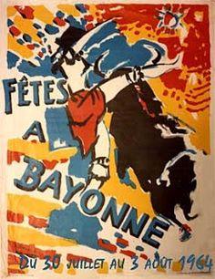 Pays Basque 1900: Les affiches des Fêtes de Bayonne