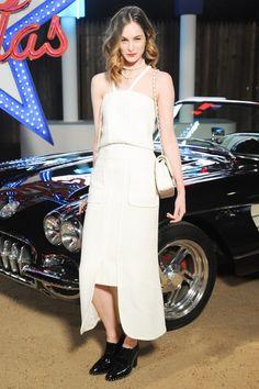Laura Love au défilé Chanel Paris-Dallas en décembre 2013 photo