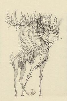 Fantasy creatures, mythical creatures, dark creatures, art reference, art d Monster Art, Monster Design, Monster Drawing, Creepy Drawings, Creepy Art, Cool Drawings, Arte Horror, Horror Art, Creature Drawings