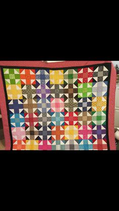Made by Dorothy - MOD quilt