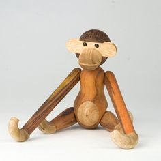 Proving that good design doesn't have to mean cheerless functionalism, the wooden toys created by Kay Bojeson have delighted Danish children for decades.  Bojeson was trained as a silversmith, but is most well known for his series of rather elegant wooden toys.  His cheerful teak monkey has achieved a certain iconic status and a prominent place on more than one adult's bookshelf or coffee table.  Now he is joined by some newly re-issued  Bojeson creations, including a rabbit, dachshund, and ...