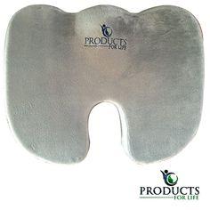 PFL Memory Foam Lower Back Pain Relief Chair Seat Cushion Orthopedic Comfort Car Seat Cushion, Seat Cushions, Pressure Ulcer, Sciatica Relief, Lower Back Pain Relief, Car Office, Neck Pain, Rebounding, Memory Foam