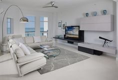Modern Living Room Ideas with Gray Carpeting
