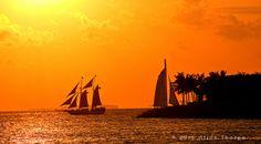 Key West sunset sail | Tumblr