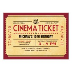 1000 images about poster ideas on pinterest movie night for Film premiere invitation template