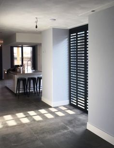 Aluminium Shutters - Fractions - home inspirations - Interior Desing, Interior Design Living Room, Interior Styling, Casa Milano, Interior Windows, Home Fashion, Room Decor Bedroom, Home And Living, Decor Styles