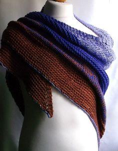 Muzati Shawl By Brian Smith - Free Knitted Pattern - (ravelry)