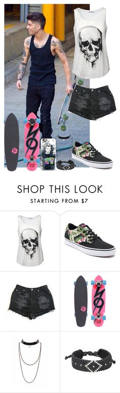 """Sin título #241"" by luciabelen-26 ❤ liked on Polyvore featuring Vans, Sector 9, NOVICA and Casetify"