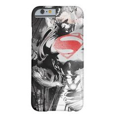 Superman Looking Down Graphic Barely There iPhone 6 Case