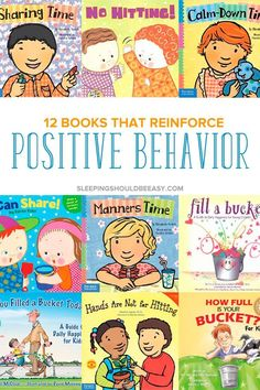 You can reinforce positive behavior by teaching your kids the right way to express their emotions. Positive reinforcement makes a big impact on your child's behavior. One of the best ways is to read children's books that reinforce positive behavior. Positive Verstärkung, Positive Behavior, Positive Reinforcement Kids, Positive Discipline, Toddler Books, Childrens Books, Kid Books, Read Aloud Books, Stress