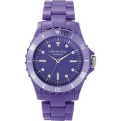Buy Identity London Unisex Watch - Purple at Argos.co.uk £9.99 0r 2 for 16.00  http://www.argos.co.uk/static/Product/partNumber/2838263.htm