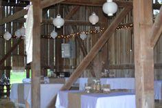 Rustic wedding, country wedding, barn wedding décor.