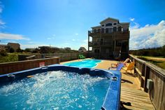 explorers beacon 10 bedroom beach vacation rental on north carolina