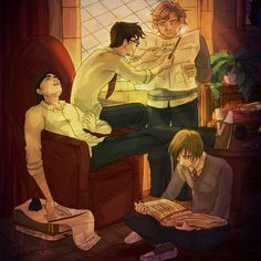 Let's do something! by sharadaprincess on deviantART  The Marauders