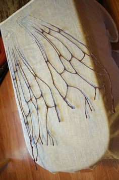 Some rudimentary images of a faerie wings DIY WIP. - The Copper Stoat Diy Wings, Never Grow Up, At Home Store, Faeries, Costume Wings, Fairy, Crafting, Copper, Welding