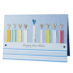 Holiday Cards and Tags You Can Make: Happy Hanukkah! (via Parents.com)