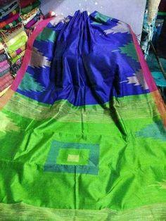 Handloom Jamdani with Temple Border Ethnic Gown, Shorts Online, Lehenga, Sarees, Cotton Silk, Salwar Suits, Nightwear, Jeggings, Pure Products
