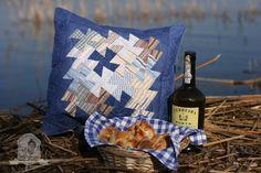 Szilvi foltvarró blogja: Flic-flac patchwork párna