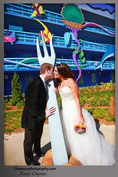 Art of Animation Disney Wedding Photos: Juliana + Brent Locations: Art of Animation, BoardWalk Photography: Randy Chapman