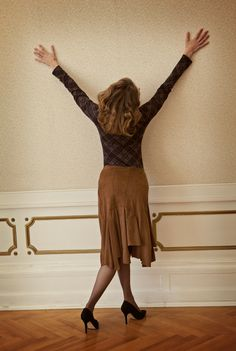 leatherette lined skirt Fall Winter, Autumn, Ballet Skirt, Creative, Skirts, Fashion, Moda, Fall, Skirt
