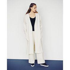 """#galerievie #ギャルリーヴィー #fashion #knit #monotone  GALERIE VIE """"STYLE""""update!"""