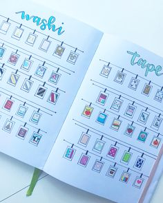 Need to use up some of your washi tape collection in your bullet journal? These 7 Washi Tape Ideas are simple and add a lot of aesthetic to your journal. Bullet Journal Lined Paper, Bullet Journal Lines, Bullet Journal Washi Tape, Bullet Journal Lettering Ideas, Bullet Journal Headers, Bullet Journal Printables, Bullet Journal Books, Journal Paper, Bullet Journal Ideas Pages