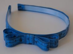 tape measure hairband