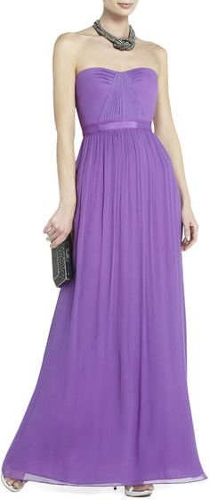 BCBGMAXAZRIA Amber Strapless Evening Gown on shopstyle.com