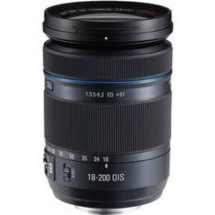 Samsung 18-200mm f/3.5-6.3 NX Movie Pro ED OIS Zoom Lens (Black)