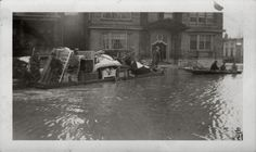 Newport, Kentucky, 1937 flood, from a private collection: 400 Washington Avenue.