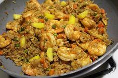 Pineapple Shrimp Fried Rice Recipe