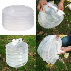 39c624da60 10L Foldable Camping Water Bucket Outdoor Clear Collapsible Water  Containers Hiking Fishing Picnic Water Buckets-in Water Bags from Sports &  Entertainment ...
