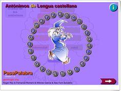 """""""Pasapalabra de antónimos"""" (Lengua Española de 4º y 5º de Primaria)"""