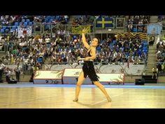 Arisa TANAKA (Japan) - 2nd place World Championship 2012 Twirling - YouTube