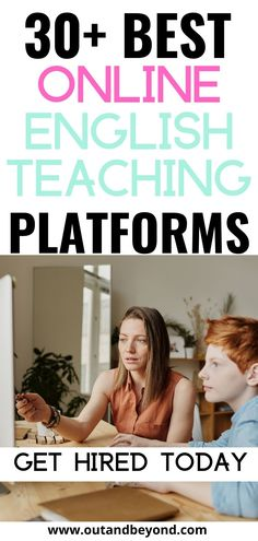 20+ best online english teaching platforms to help you make extra money online, while working from home! Make extra money working a side hustle as a stay at home mom. Work from home and create a second income online. Online Teaching Jobs, Teaching Resources, Online English Teacher, Job Website, Saving For Retirement, Work From Home Jobs, Finance Tips, Extra Money, Platforms