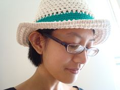 Free Pattern. Bucket of Sun Hat. 006 copy