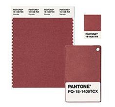 Marsala- Pantone Color of the Year 2015