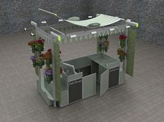 Flower Kiosk Unibox - Gallery