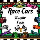 This is a bundle file that includes all my Race Cars products at a discounted bulk price.  Included: Classroom Set- Race Cars  Number Posters, Word...