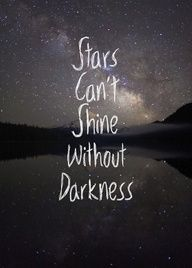 You can shine God's light in a place filled with son light. You have to shine were the son light hasn't reached yet.