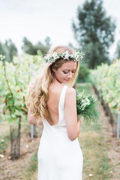 Torum Charlie Brear Dress Bride Bridal Gown Straps Bohemian Vineyard Wedding http://www.gemmagiorgio.com/