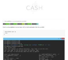 Ligne de commande Linux développé en JavaScript - Cash  Cash est une application multi-plateforme de commandes shell Unix écrits en pur ES6  http://noemiconcept.com/index.php/fr/departement-communication/news-departement-com/207181-webdesign-ligne-de-commande-linux-d%C3%A9velopp%C3%A9-en-javascript-cash.html